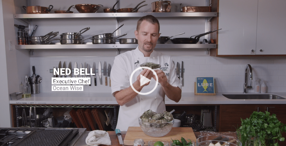 How to Grill a BC Oyster